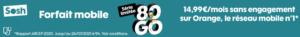 Sosh 80Go Forfait mobile